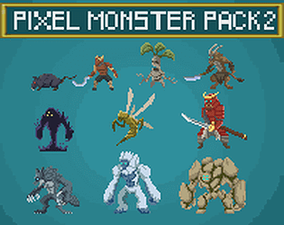 pixel monsters 2