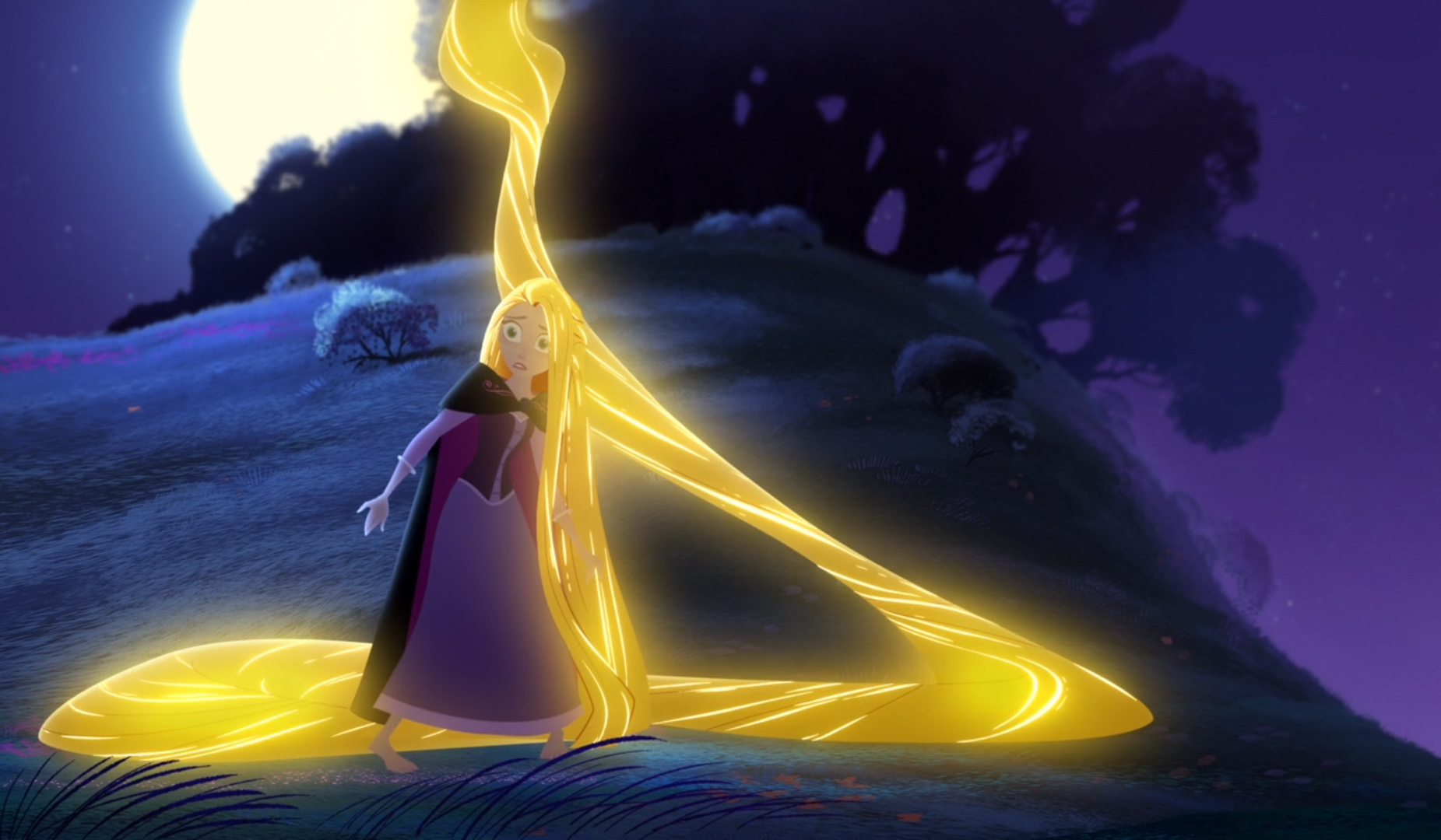 Repunzel with Glowing Hair again.